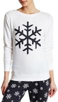 LOVE+GRACE Snowflake Print Sweatshirt