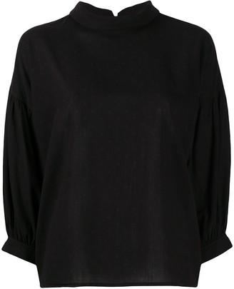 Yves Saint Laurent Pre Owned 1970s Three-Quarter Sleeved Blouse