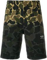 adidas ombré camo Bermuda shorts