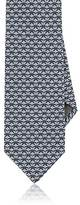 Salvatore Ferragamo Men's Butterfly-Print Silk Necktie