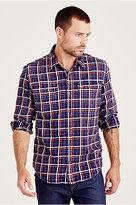 True Religion Triple Needle Workwear Mens Shirt