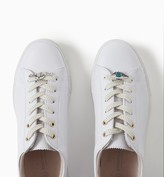 Promod Lace-ups with clip jewellery