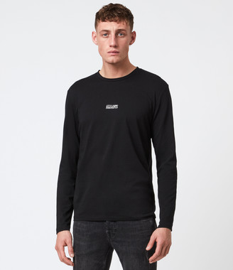 AllSaints State Long Sleeve Crew T-Shirt