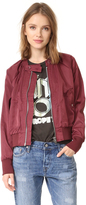 Free People Midnight Bomber Jacket