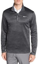 Nike Men's Dri-Fit Heathered Long Sleeve Golf Pullover