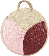Vanessa Seward geometric pattern woven tote - women - Straw - One Size