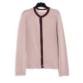 Marni Pink Cashmere Knitwear