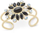 Vera Bradley Gold-Tone Crystal Glitz Cuff Bracelet