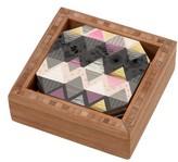 DENY Designs Geometric Coaster Set & Tray