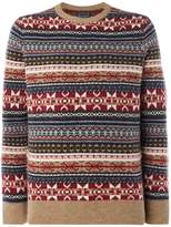 Howick Fireside Fairisle Crew Neck Jumper