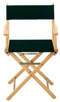 Home Decorators Collection Replacement Canvas Seat and Back for Directors Chair (Canvas Only), CANVAS, BLACK