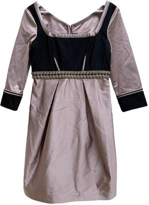 Zac Posen Pink Silk Dresses