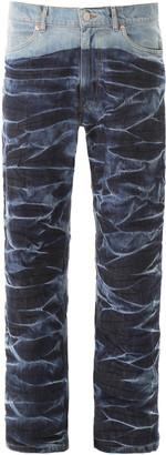 Martine Rose Crinckled Jeans