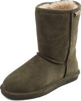 BearPaw Boots Women Emma Short Suede Wool Blend 608W
