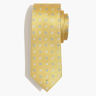 J.Crew Geometric-print silk tie