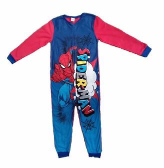 Fireman Sam Boys Onesie All in One Kids Dress Up Costume Fleece Sleepsuit Pyjamas