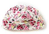 Joules Baby Girls Newborn-12 Months Baby Bonnet Reversible Jersey Hat