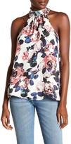 Willow & Clay Halter Floral Tank