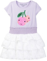 Design History Cherry Eyelet Dress (Toddler & Little Girls)