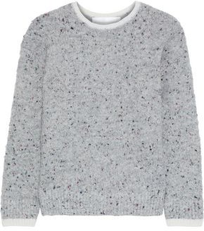 Victoria Victoria Beckham Marled Knitted Sweater