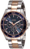 GUESS GUESS? W0172G3 40mm Rose Gold Steel Bracelet & Case Mineral Men's Watch