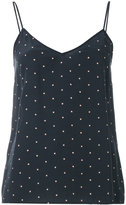 Equipment dotted tank top - women - Silk - M