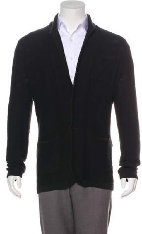 John Varvatos Knit Cardigan black Knit Cardigan