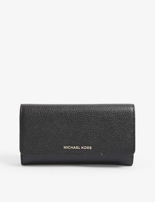 MICHAEL Michael Kors Jet Set tri-fold leather wallet