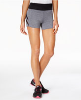 Material Girl Active Juniors' Mesh-Stripe Shorts, Only at Macy's