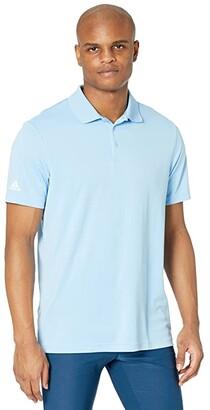 adidas Performance Primegreen Polo Shirt (Sky) Men's Clothing