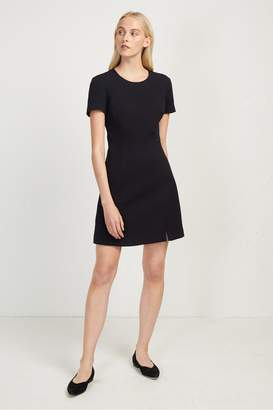 French Connection Hua Texture Fitted Dress