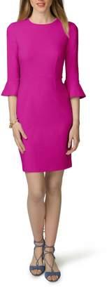 Donna Morgan Bell Sleeve Sheath Dress