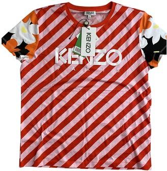 Kenzo Orange Cotton Top for Women