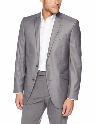 Kenneth Cole Reaction Men's Techni-Cole Stretch Slim Fit Suit Separate Blazer (Blazer Pant and Vest)
