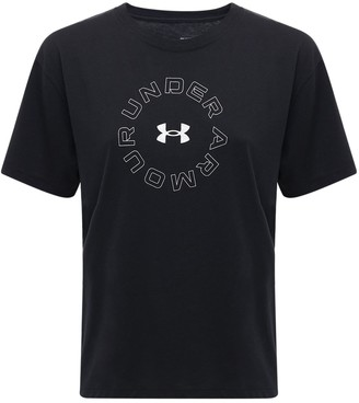 Under Armour Live Fashion Cotton Blend T-shirt