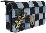 Marc Jacobs Denim Patchwork Satchel Shoulder Bag
