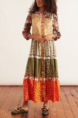 La Prestic Ouiston Flora Dress in Mix Panthere