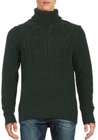 Nautica Cable-Knit Turtleneck Sweater