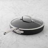 Williams-Sonoma GreenPanTM Black Ceramic Nonstick Grill Pan with Lid