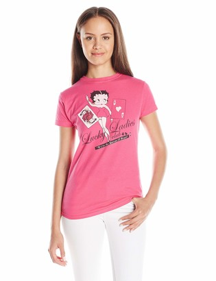 American Classics Juniors Betty Boop Lucky Ladies Graphic Tee