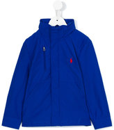 Ralph Lauren hooded jacket - kids - Cotton/Polyamide/Polyester - 2 yrs