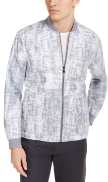 Alfani Men's Printed Bomber Jacket, Created for Macy's