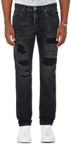 Helmut Lang Men's Distressed Slim Jeans