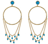Gorjana Turquoise Chandelier Earrings