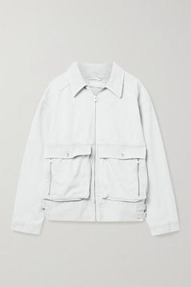 IRO Lachais Oversized Denim Jacket - Light gray