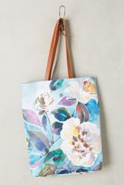 Anthropologie Evegnia Floral Tote Bag