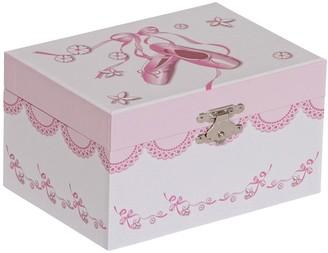 Mele Clarice Girl' Muical Ballerina Jewelry Box-