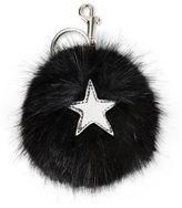 Stella McCartney fur free fur star keychain