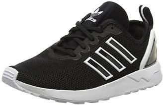 adidas Unisex Adults' Zx Flux Adv Low-Top Sneakers, Core Black/FTWR White, 41 1/3 EU