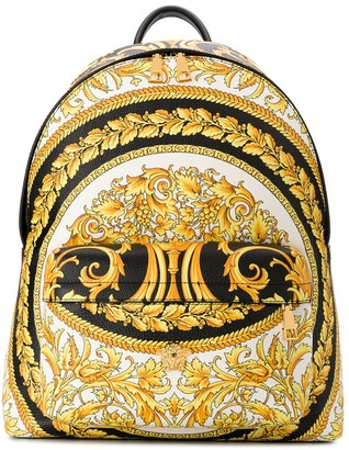 Versace Barocco-print backpack